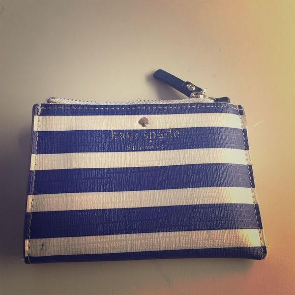 Gently used Kate Spade wallet sale Minor damages to this cute Kate spade wallet kate spade Bags Wallets