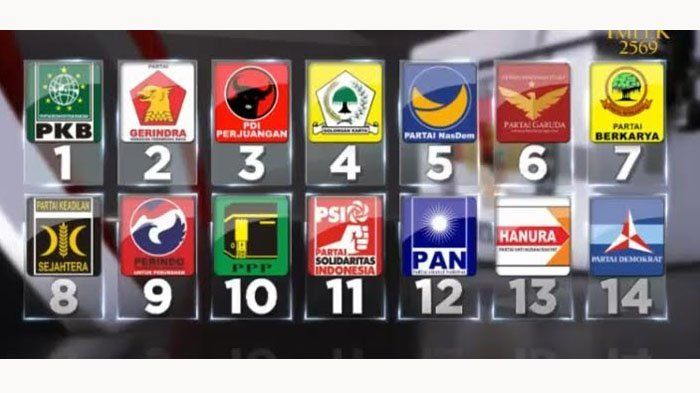 KOMISI Pemilihan Umum (KPU) menyatakan 14 partai politik telah memenuhi syarat adminitrasi dan verifikasi faktual dalam kontestasi pemilihan umum (Pemilu) 2019.    Dari 14 partai yang lolos, empat di antaranya adalah partai-partai baru.    Masing-masing Partai Garuda, Partai Solidaritas