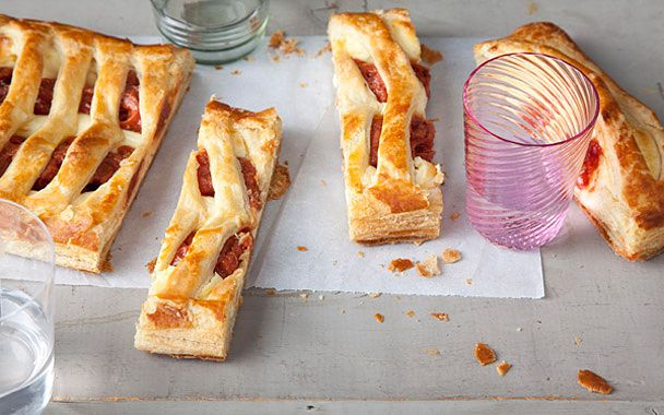 Guava and Cream Cheese Pastry: pastelitos?!: Cheese Puff, Sweet, Cheese Pastries, Food, Guava Pastry, Guava And Cream Cheese Pastry, Dessert, Cream Cheeses