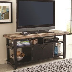 Wylder+TV+Rustic+Two-Tone+TV+Stand Model Number: 701062