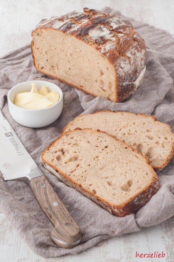 Landbrot Rezept backen Topf herzelieb foodblog-1
