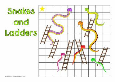 make your own snakes and ladders template - 9 best maths number games images on pinterest counting