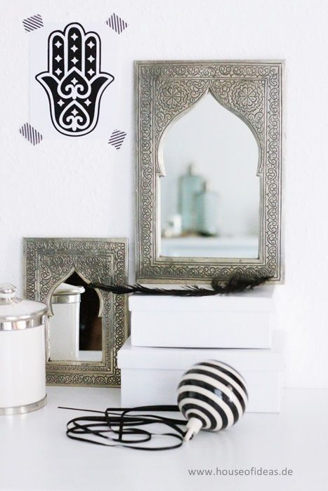 Marokkanischer Spiegel groß - H O U S E of I D E A S