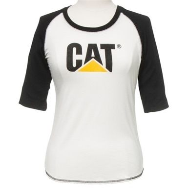 The C151 CAT Ladies Trademark Baseball Tee is both a fashionable and practical garment, making it ideal for work or leisure wear. It of course features the stylish CAT workwear logo printed on the front.