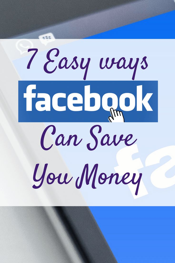 Most of us spend hours on social media each and every day - but have you ever thought about how Facebook can save you money?