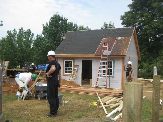 Building with Mike holmes! #dreamscometrue #construction # #DYI #Barn #Farmhouse #sheds #backyardcustomconstruction #poolhouse #gardening #Gardenshed #cabin #cottage #motherinlawsuite #workshop #tinyhouse #atlanta #classiccar #shop #mancave #mountains #metalroof #framing #huntingcamp #hunting #fishcamp #fish #garage #landscaping #farm #shed #storagebuilding #sewing #art #tinyhouse #tinyhome #creative