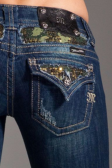camo bedazzled miss me jeans...love good work on my jeans... http://HotWomensClothes.com