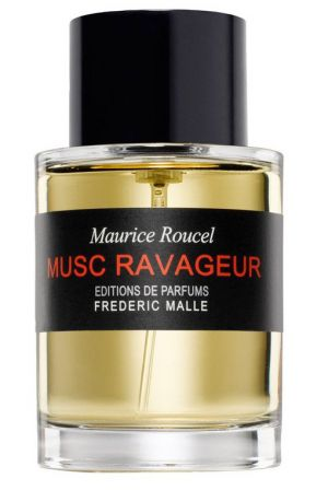 Musc Ravageur Frederic Malle for women and men (2000)... Musc Ravageur by Frederic Malle is a Oriental fragrance for women and men. The nose behind this fragrance is Maurice Roucel. Top notes are lavender and bergamot; middle notes are cinnamon and cloves; base notes are sandalwood, tonka bean, vanilla, guaiac wood and cedar. Perfume rating: 4.09 out of 5 with 1848 votes. WANT!!!