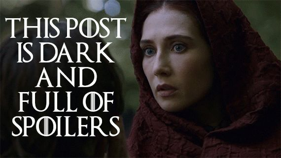 "------SPOILER ALERT------Something Awful Happened On ""Game Of Thrones"" And People Are Really Upset. SPOILERS SPOILERS SPOILERS SPOILERS. You've been warned. ------SPOILER ALERT------"