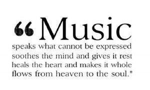 I adore music... <3
