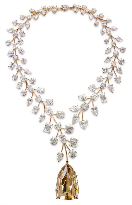 The most expensive necklace in the world. 55 million in bling from Mouawad - Imgur