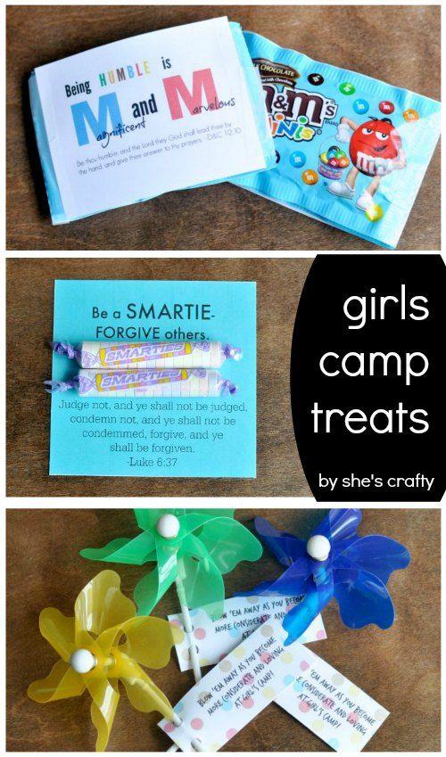 She's crafty: Girls Camp treats