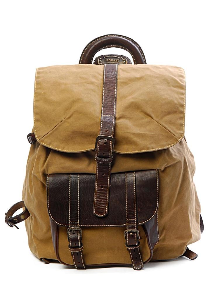 Sandast - Falcon 1 Backpack (Dark Brown) | $850 on VAULT