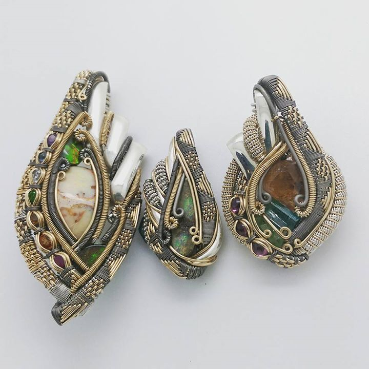 2957 best wire images on Pinterest   Necklaces, Wire jewelry and ...