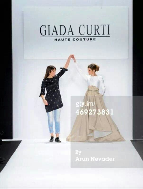 New York Fashion Week Giada Curti and Elisabetta Pellini
