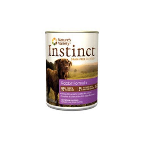 Nature's Variety Instinct Canned Dog Food - Rabbit - 5.5 oz - 12 ct ^^ Hurry! Check out this great product : Dog food types