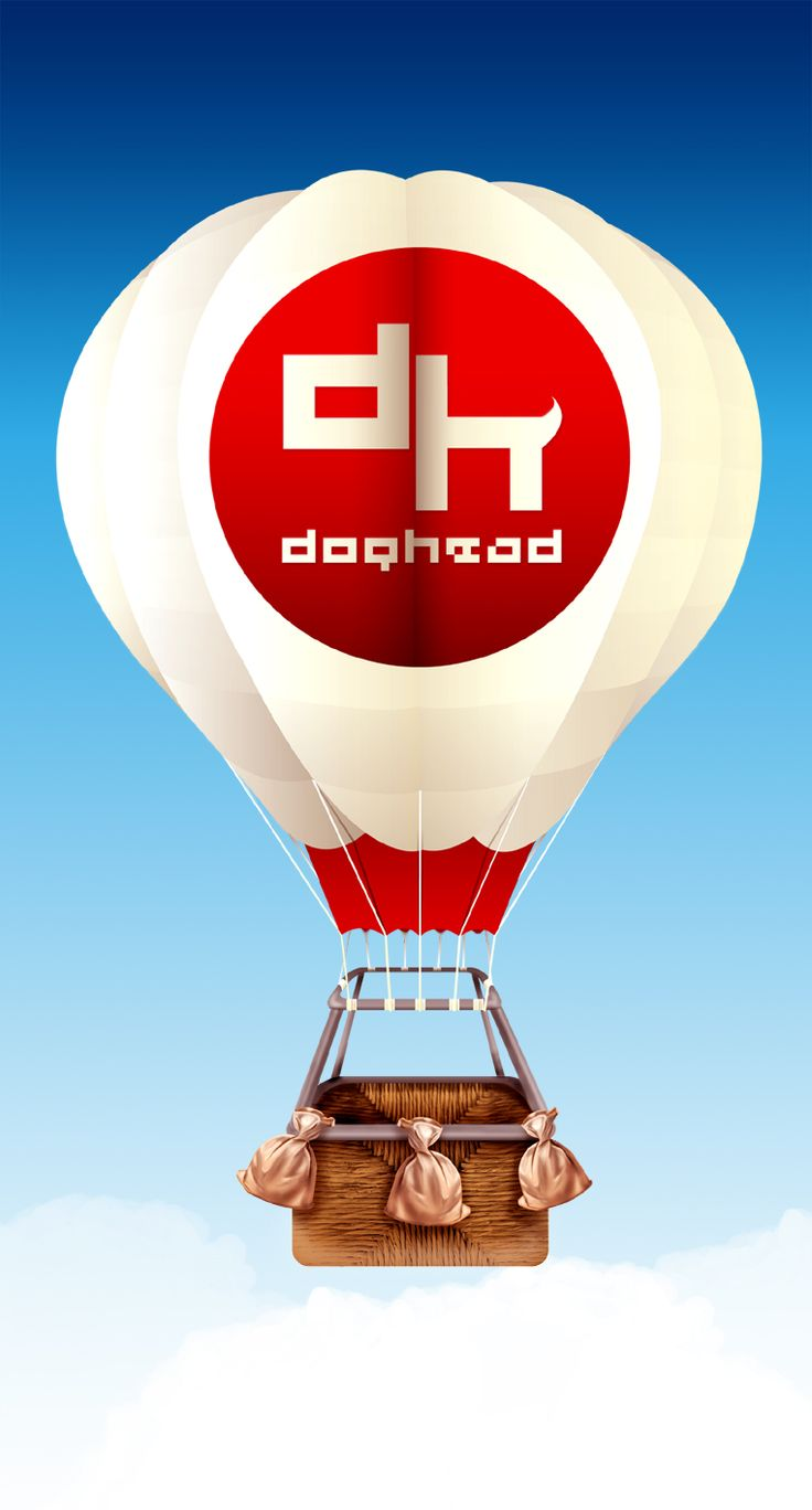 Doghead balloon by doghead.deviantart.com on @deviantART