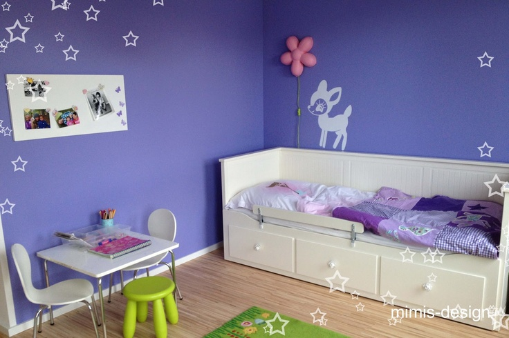 mimis design kinderzimmer m dchenzimmer ikea hack hemnes. Black Bedroom Furniture Sets. Home Design Ideas