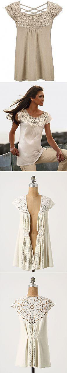 Подборка - Ткань + вязание
