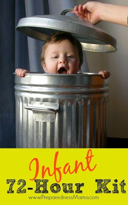Create an infant 72-hour kit for your newborn | PreparednessMama