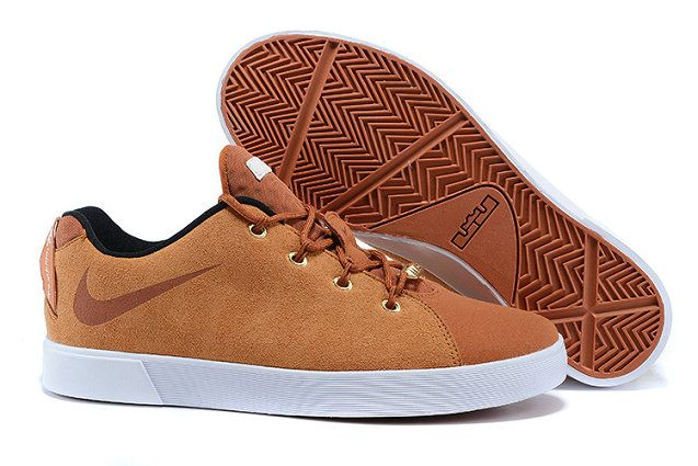 release date: 486da 8d281 2015 Fashion Nike LeBron 12 (XII) NSW Lifestyle Low Tops Casual Shoes Brown