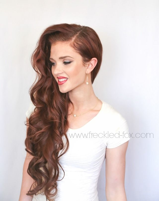 The Freckled Fox : Wedding Hair: Retro Waves + a Compliment Giveaway