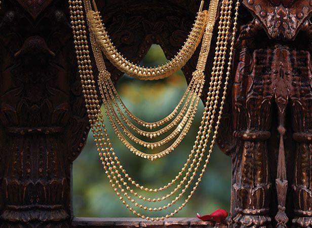 Tanishq Maharashtrian Bride Wedding Jewellery Collection - Necklace Set