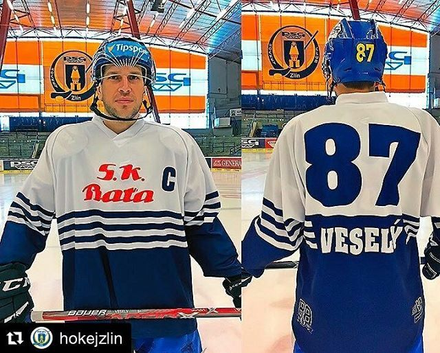 Svůj retro zápas odehrají také hokejisté Zlína, tento pátek / So now you know where does Baťa shoes company come from. Yeah, from Zlín :) #hokej #telh #extraliga #zlin #design #retro #cr #czech #icehockey #jersey #kit  #Repost @hokejzlin with @repostapp ・・・ K 80. výročí vzniku @telh_cz se zapojí i PSG Zlín a utkání 38. kola odehraje v retro dresech, které připomenou počáteční léta zlínského hokeje pod názvem SK Baťa Zlín. #sevci