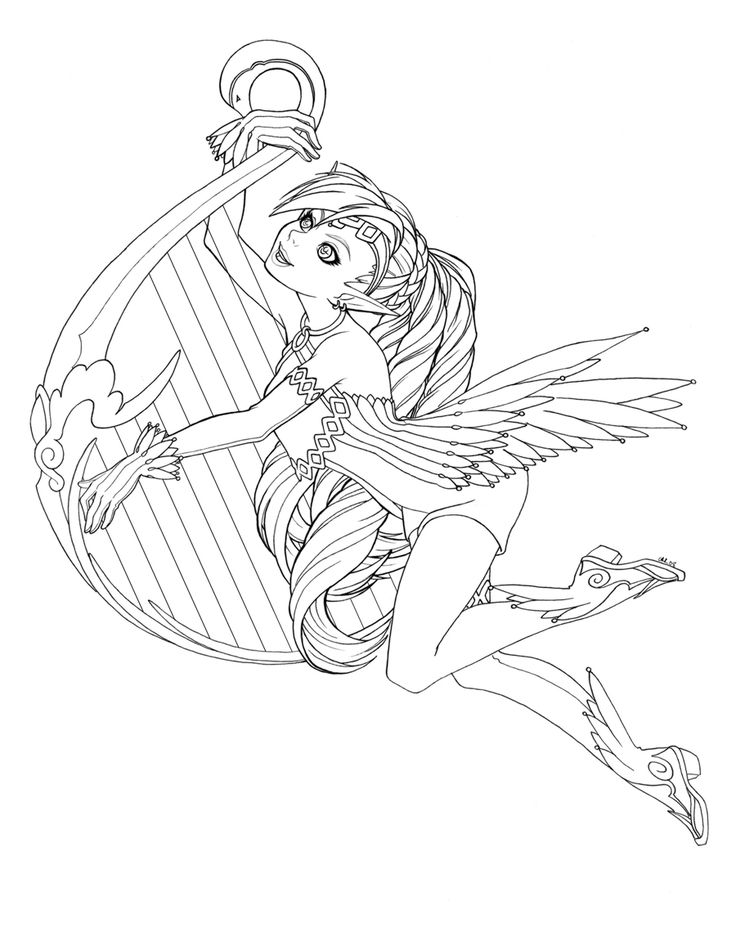 fairy adult coloring pagescoloring