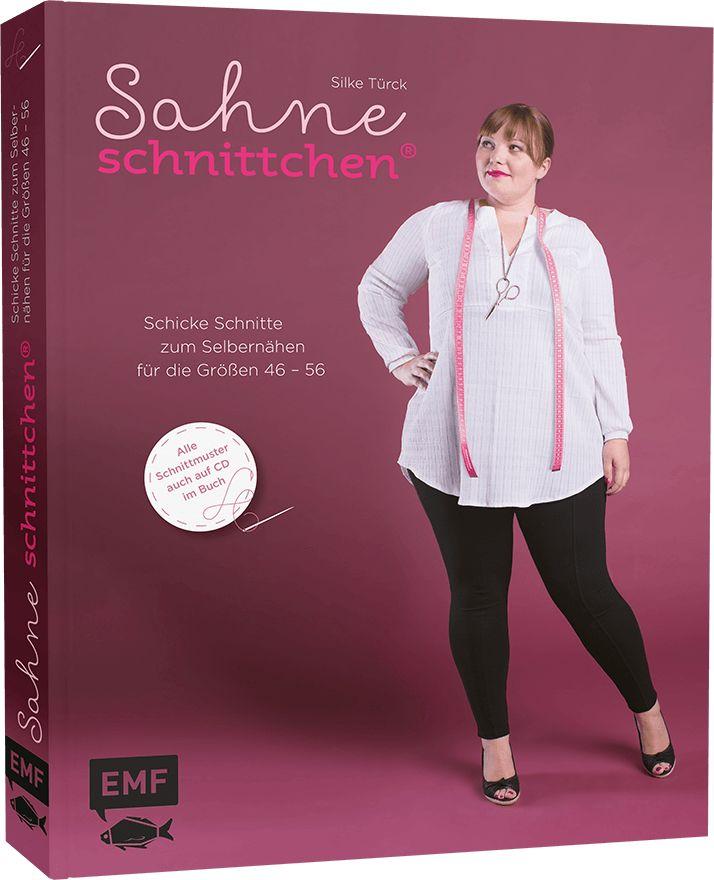 Das Nähbuch von schnittchen® liefert eine Schnittmusterlinie für große Größen (46–56): schicke und gut kombinierbare Kleidung einfach selber nähen.