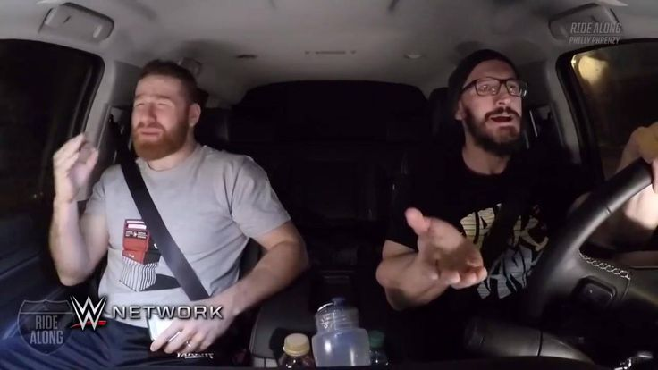 Can you do a New York accent better than Sami Zayn or Neville on WWE Ride Along on WWE Network?