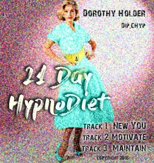 Brand new HypnoDiet! 3 hypnosis tracks, 21 days. have a wee rest 3 x a week for 3 weeks, take in some new suggestions,create permanent change, couldn't be easier.