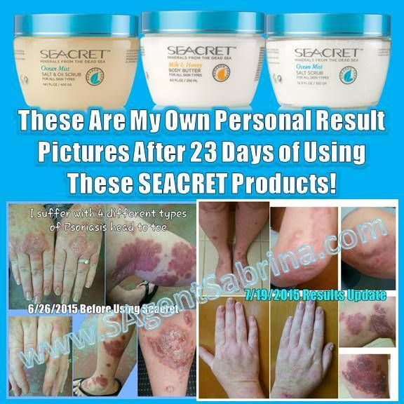 So many have asked me about my own personal results with these products not realizing that I had posted them earlier. So here they are again..... my pictures of before SEACRET & 23 days in to using them.. www.SAgentSabrina.com