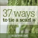 Definitely going to need this for all my scarves this coming winter. A lot of different ideas.
