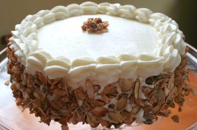 Cheers to Happy: Swedish Burnt Almond Cake....