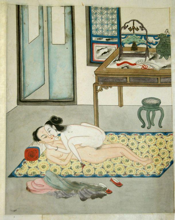 Chinese erotic art.