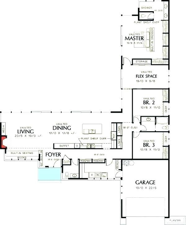 Image Result For Vintage L Shaped House Plans Found In Pacific Northwest L Shaped House L Shaped House Plans Garage House Plans