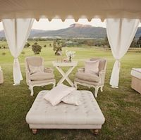 Hunter Valley Wedding, New South Wales. Adams Peak Retreat