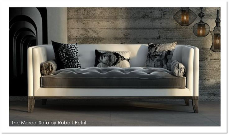 The Marcel Sofa, designed by Robert Petril for modlifecollection.com #furniture #upholstery #sofa #loveseat #chair #sectional #modular #com #custom #madeinusa