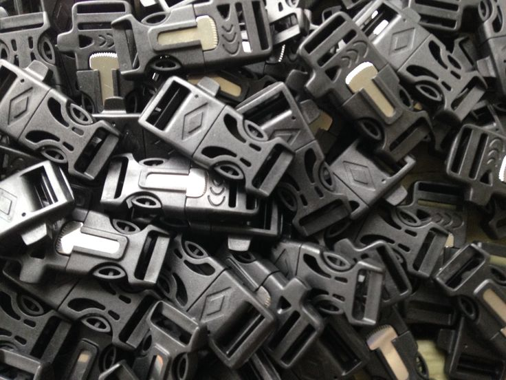 Our Firesteel Buckles come with the emergency whistle and the fire starter & scraper all in one. These fire starter buckles should be part of your EDC in some form or fashion. They are solid, tight su