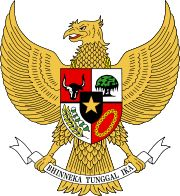 "State Emblem of Indonesia - ""Unity in Diversity"". The Garuda Pancasila"