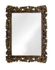 Интерьерное зеркало в стиле Прованс Венге Золото