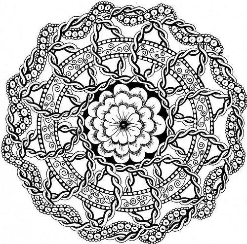 celtic circles #zentangle #doodles