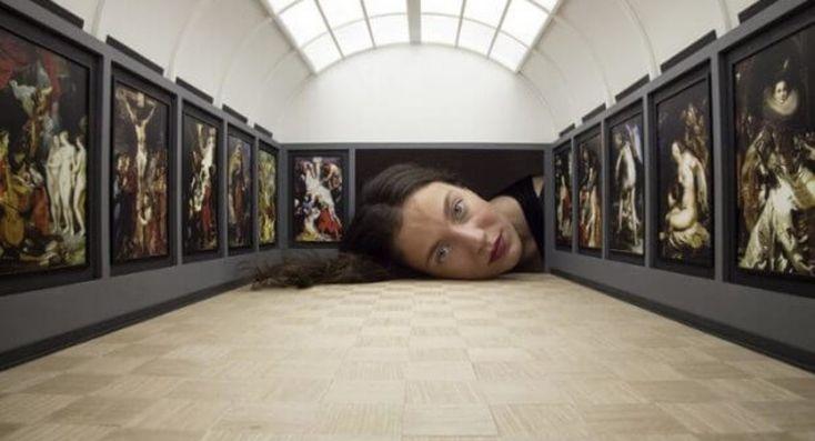 Het Louvre als kijkdoos