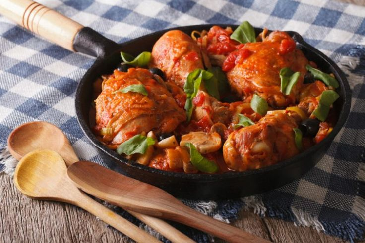 5 блюд из курицы в итальянском стиле / Едальня