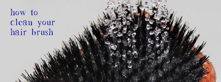 How to Properly Clean your Hair Brush Especially BOAR BRISTLE Brushes. Washing your brush this way will help prevent dandruff and keep your hair cleaner too
