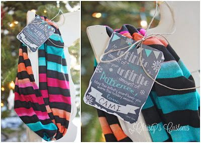 Christy's Customs and the Little House by the Olive Tree: A great teacher gift {A SIMPLE INFINITY SCARF} for an infinite amount of thank you...