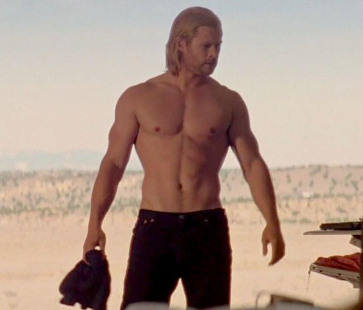 Chris Hemsworth shirtless Thor