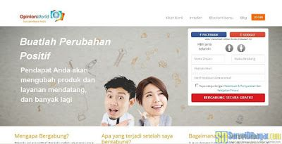 Review OpinionWorld Indonesia Online Survey Dibayar PayPal #PaidSurvey