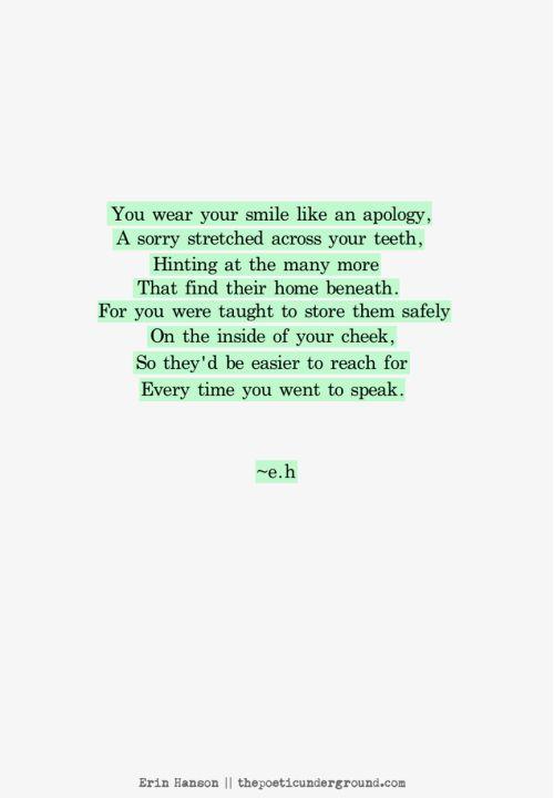 Sorry. thepoeticunderground.com #poem #poetry